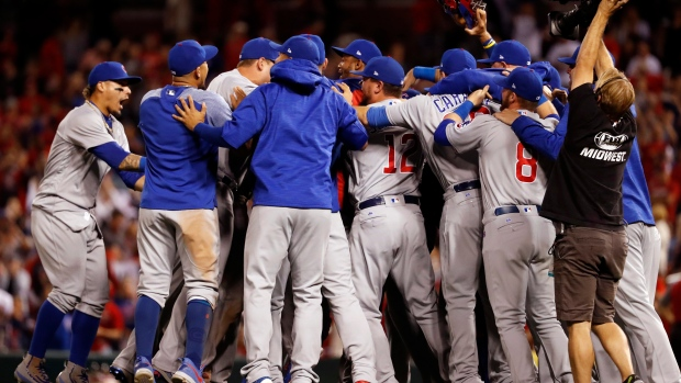 Chicago Cubs win NL Central title