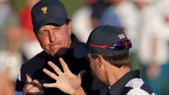 Phil Mickelson and Kevin Kisner,