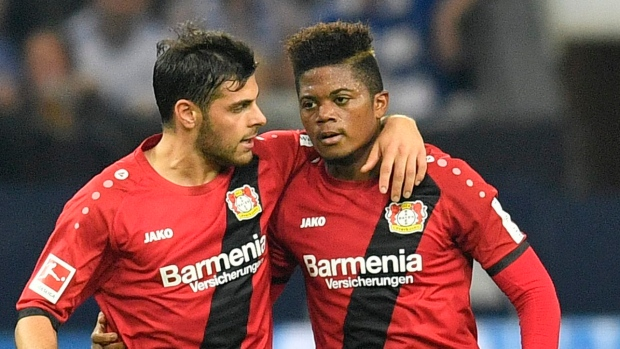 Bailey Gets First Bundesliga Goal To Grab Point For Bayer