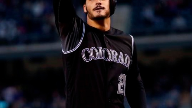 Playoff-chasing Rockies homer 4 times to beat Dodgers 9-1 Article Image 0