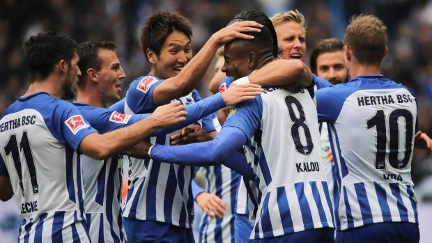 Hertha-berlin-celebrates