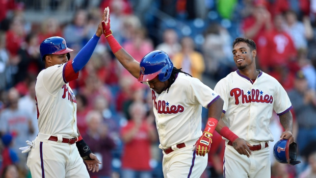 Aaron Altherr Maikel Franco Nick Williams