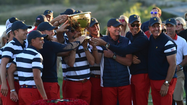 United States win Presidents Cup