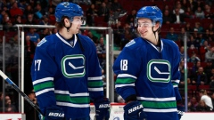 Jake Virtanen Ben Hutton Canucks