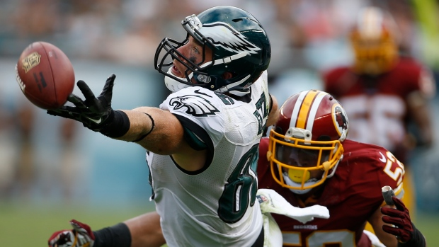 Eagles sign tight end Zach Ertz to 5-year extension