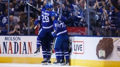 William Nylander, Maple Leafs celebrate