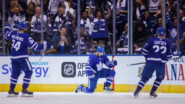 Maple Leafs have scoring depth, but know pace can't last