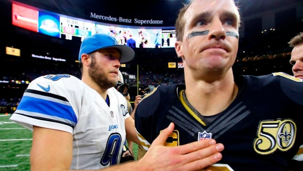 Matthew Stafford Drew Brees