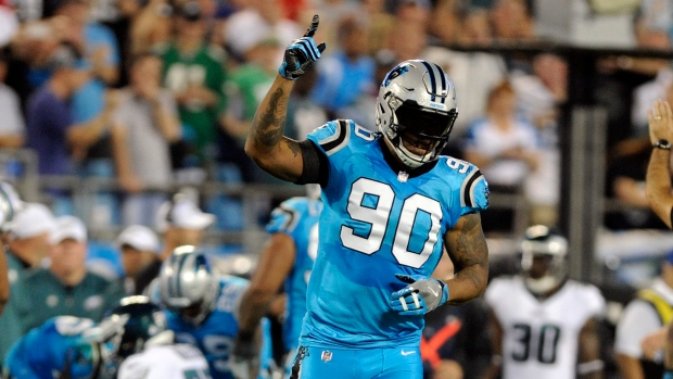 Panthers DE Peppers retires after 17 seasons