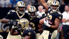 New Orleans Saints celebrate