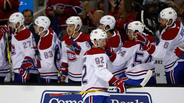 Jonathan Drouin scores for Canadiens