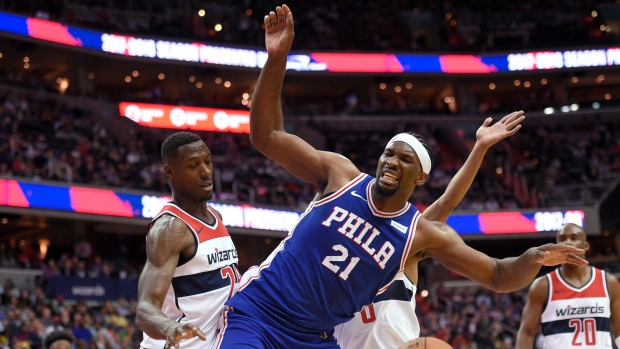 Joel Embiid: Sixers 'got to listen to me' about minutes restriction