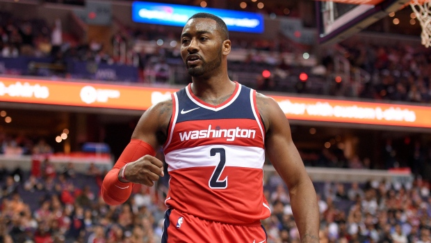 Wizards PG Wall out 2 weeks