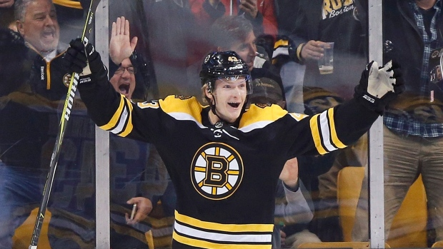 info for 54008 8124a Boston Bruins sign forward Danton Heinen to two-year deal ...