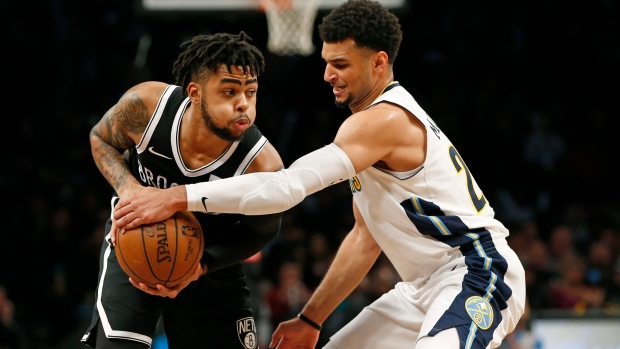 Nets' D'Angelo Russell likely to miss several games with knee injury
