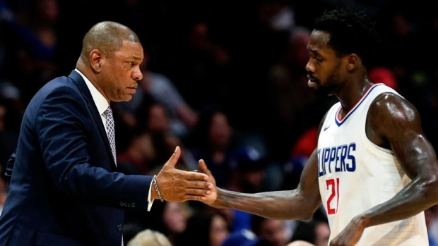 Doc Rivers and Patrick Beverley