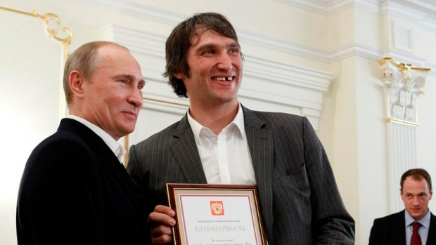Ovechkin Starting Social Movement For Putin Tsn Ca