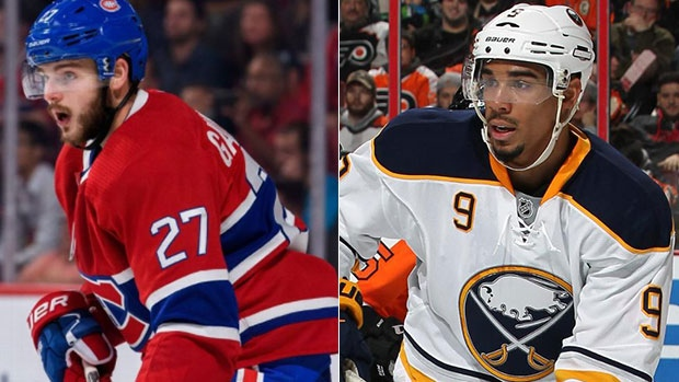 Alex Galchenyuk and Evander Kane