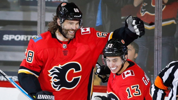 Mark Jankowski, Jaromir Jagr Net First Goals As Flames In 6-3 Win