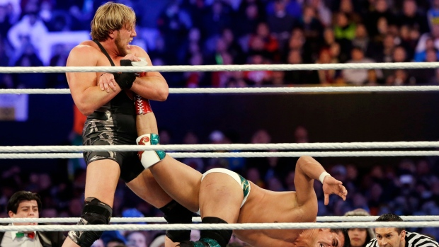 Having left WWE behind, Jack Swagger signs with Bellator