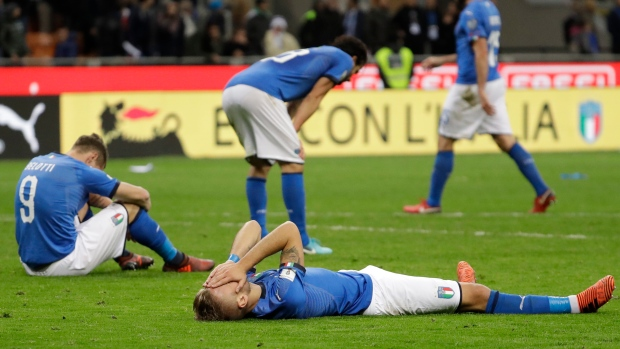 Italy misses World Cup