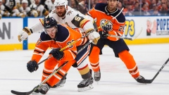 Nugent-Hopkins, McDavid score twice as Oilers down Golden Knights 8-2 Article Image 0