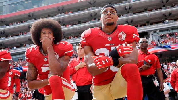 NFL's Panthers sign Eric Reid, who joined Kaepernick in anthem protests