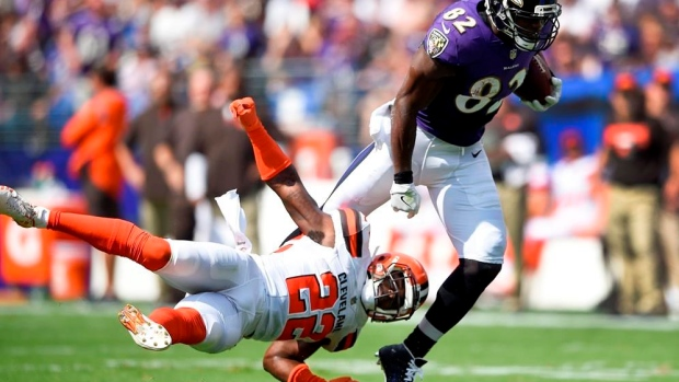 Ravens TE Watson returns with flourish from torn Achilles Article Image 0