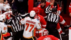 NHL suspends Red Wings' Witkowski for 10 games for fighting Article Image 0