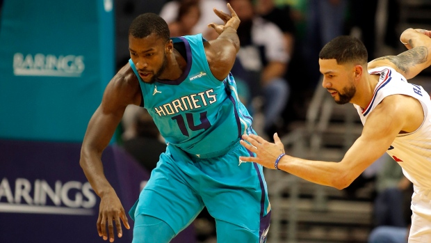 Michael Kidd-Gilchrist and Austin Rivers,