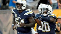 Chargers defence piles up 6 takeaways in rout of Bills Article Image 0