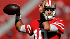 49ers remain in no rush to start Jimmy Garoppolo at QB Article Image 0