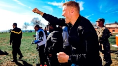Jets' McCown, Davis coach military squads in flag football Article Image 0