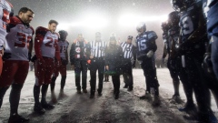 105th Grey Cup coin toss