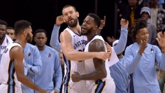 Marc Gasol and JaMychal Green