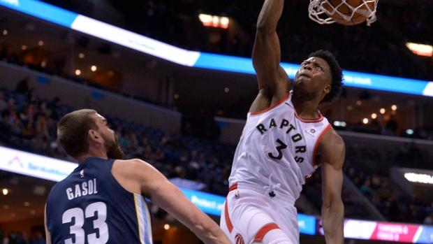 Raptors  rookie Anunoby adjusts to NBA life - TSN.ca e9d954a14