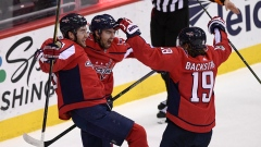 Washington Capitals celebrate goal