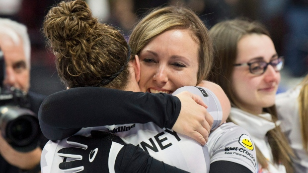 Joanne Courtney Rachel Homan