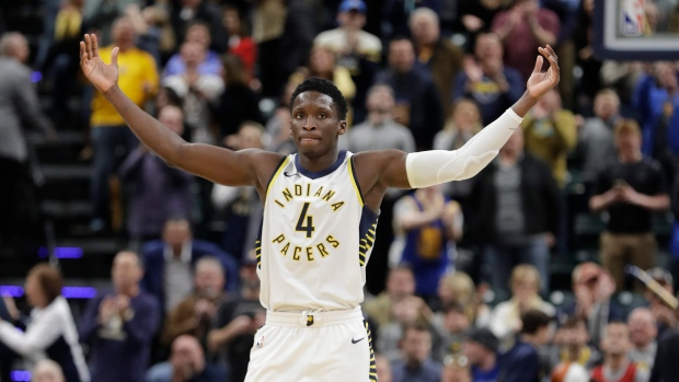 bdf4891f9e3 Pacers' Oladipo to drive pace car for Indy 500. The Canadian Press. Victor  Oladipo