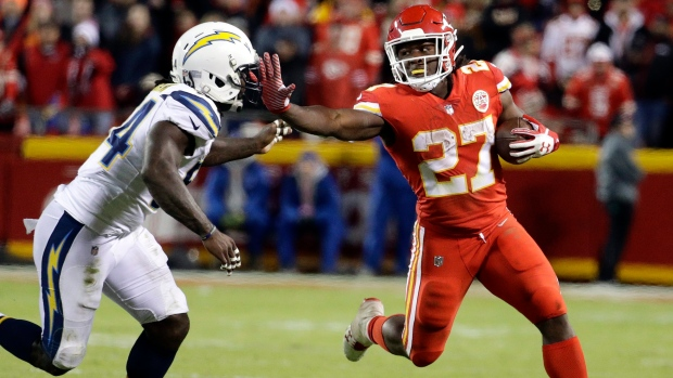 Kansas City Chiefs star Kareem Hunt seen kicking woman in hotel video
