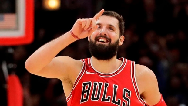 The Chicago Bulls agree to trade Nikola Mirotic to the Pelicans