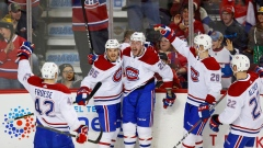Byron Froese, Canadiens celebrate