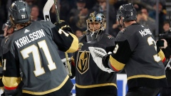 Marc-Andre Fleury, Golden Knights celebrate