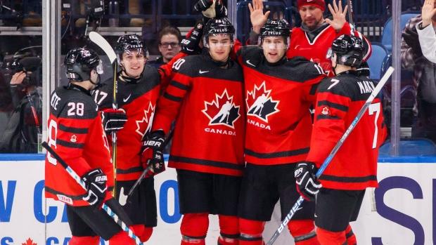 Canada Routs Slovakia To Stay Perfect At World Juniors Tsn Ca