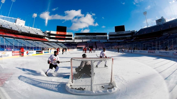 WJC: Hart Prepared For Outdoor Clash – Thanks To Steel's Backyard Rink (video)