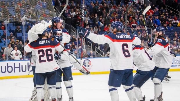 Slovakia Scores Late To Upset U S At World Juniors Tsn Ca