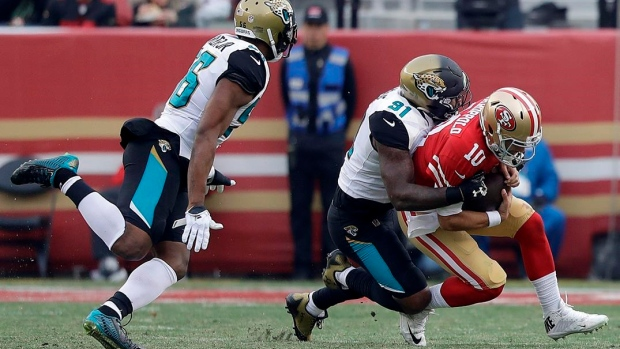 Jags' Ngakoue fined $30,387 by NFL for contact with official Article Image 0