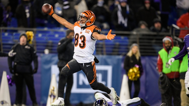 Bengals WR Tyler Boyd signs 4-year, $43m extension