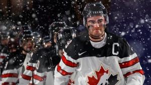 Former World Juniors captain Dube cheering on Canada from Calgary
