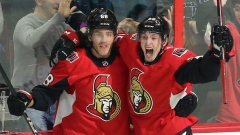 Matt Duchene and Mike Hoffman